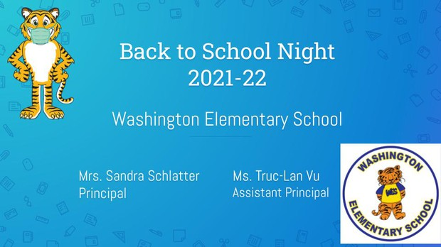 Back to School Night presentation - click here
