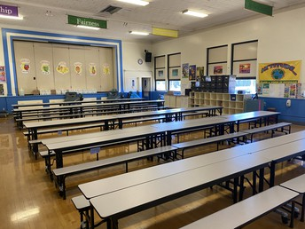 New Lunchroom Tables