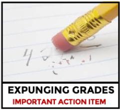 Expunging High School Grades