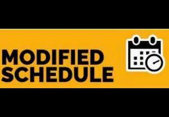 October 11 - 15 ~ MODIFIED DAY EVERY DAY ~ 1:00 DISMISSAL