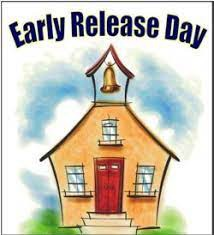 Every Wednesday is a modified day with release time at 1:00 pm for ALL grades.