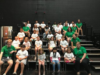 Students lead Summer Theatre Camp