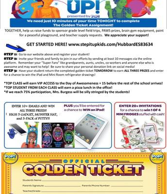 Information & Golden Ticket