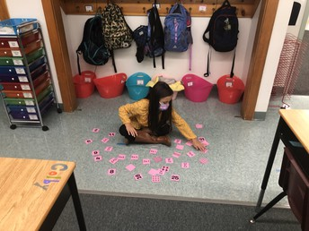Matching Arrays & Multiplication Facts