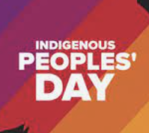 No School Monday - Indigenous Peoples' Day