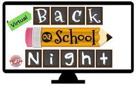 Virtual Back to School Night - COMING SOON