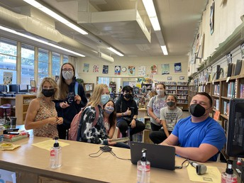 Student Librarians in Training!
