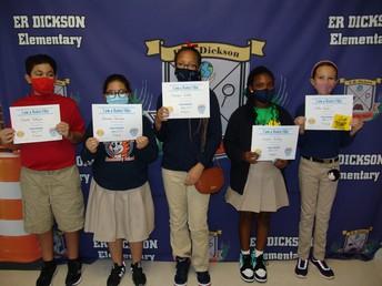 Fifth Grade Bucket Fillers