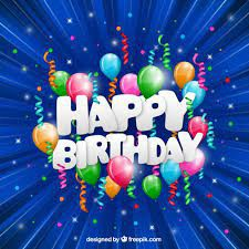 We wish you a Happy Birthday!