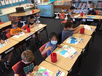 2nd graders - science class