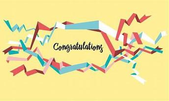 Congratulations, 8th Grade Team Award Winners!