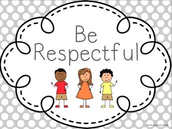 October's Character Focus -  Buckalew Bears Can Be Respectful