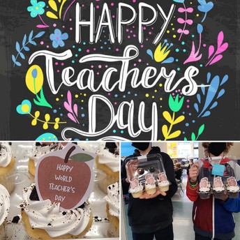 Thankful for our teachers and staff