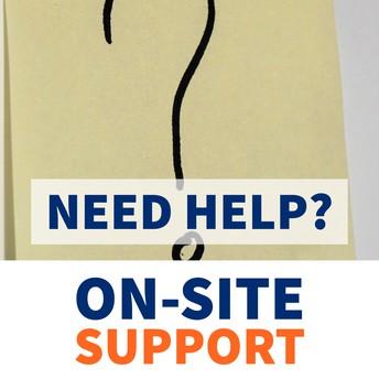 On-Site Enrollment Support