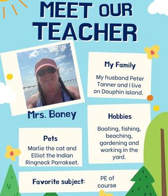 Mrs. Boney, PE