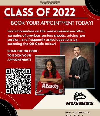 How To Book Your Senior Portaits Appointment
