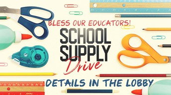 Be a Back-To-School Blessing!