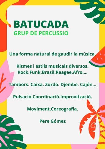 BATUCADA - Grup de percussió