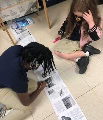 Textmapping in Ms. Edwards' Room