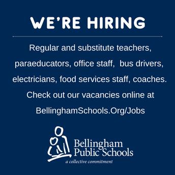 Join our team in Bellingham Public Schools