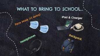 What to bring on the first day of school (Repeat)