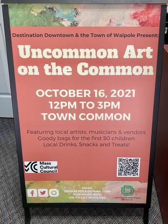 Community Event: Uncommon Art
