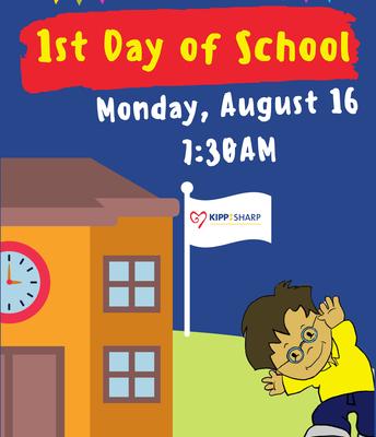 Primer Dia de classes Agosto 16