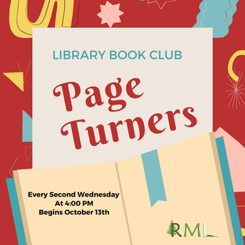 Rauchholz Memorial Library - Adult Book Club
