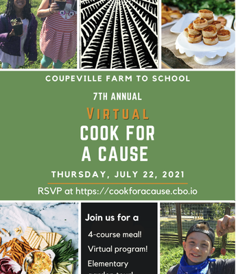 Coupeville Farm to School's Cook for a Cause