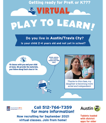 Virtual Family Classes with KLRU