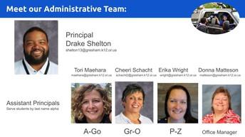 GHS Admin Team