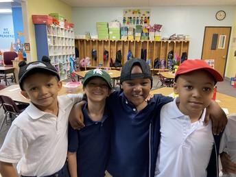 Kindergarten Celebrates Hat day