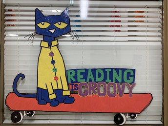Pre-K -- Pete the Cat says - 'Reading is Groovy'