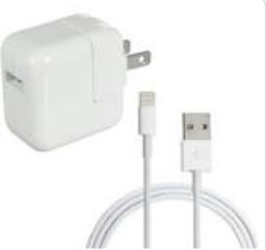 Reminder: iPad and Charger
