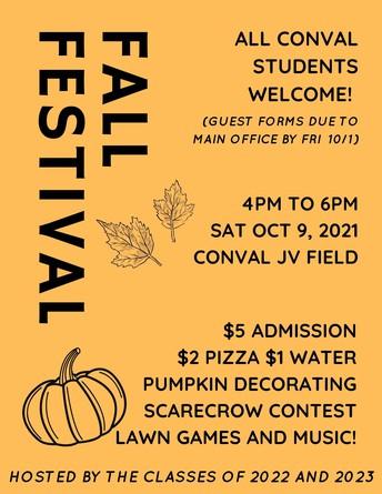 Fall Festival (This Saturday)
