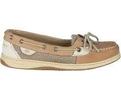 Women's Sperry Angelfish  Slip On Boat Shoe  (BROWN ONLY) GR. 5 - 8