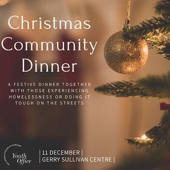 Christmas Community Dinner - 11 December 2021