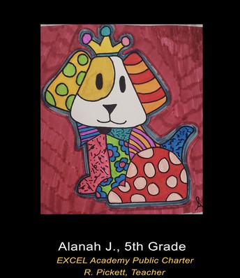 EXCEL Academy Students Selected for the PGCPS Virtual Art Exhibit