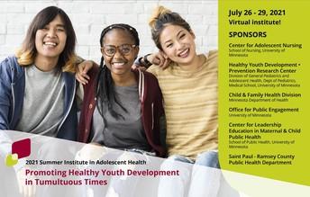 4. 2021 Summer Institute in Adolescent Health