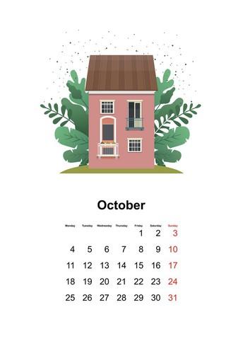 September/October Calendar