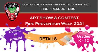 2021 Fire Prevention Week Art Contest
