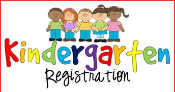 Kindergarten Registration: 2021-2022 School Year