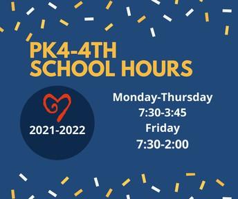 Horario de PK4-4 grado