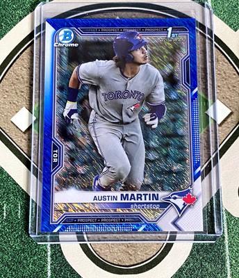 2021 Bowman Blue Shimmer Austin Martin