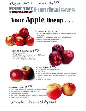 Apple Fundraiser