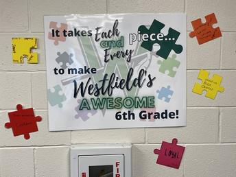 6th Grade Puzzle Pieces