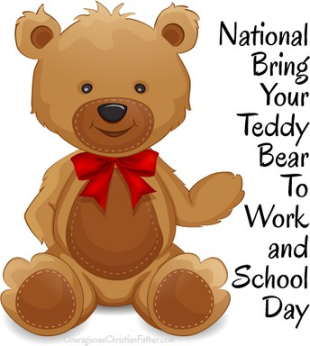 National Bring Your Teddy Bear to School Day