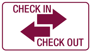 CHECK IN/OUT PROCEDURES