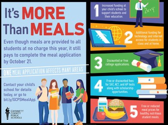School Nutrition Update - It's More Than A Meal Campaign