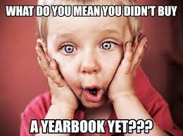 2020-2021 Yearbooks - Order yours today!